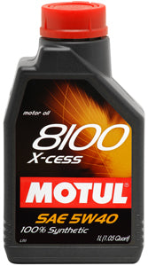 MOTUL ENGINE OIL 8100 X-CESS 5W40 1L - SportsCarBoutique