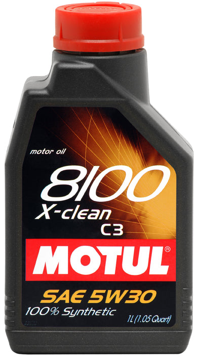 MOTUL ENGINE OIL 8100 X-CLEAN 5W30 C3 1L - SportsCarBoutique