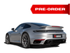 PORSCHE 911 TURBO / TURBO S (992) 2021 Slip-On Race Line (Titanium) AND Tail pipe set (Titanium)