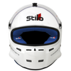 STILO ST5F GT COMPOSITE HELMET - White with Blue Interior
