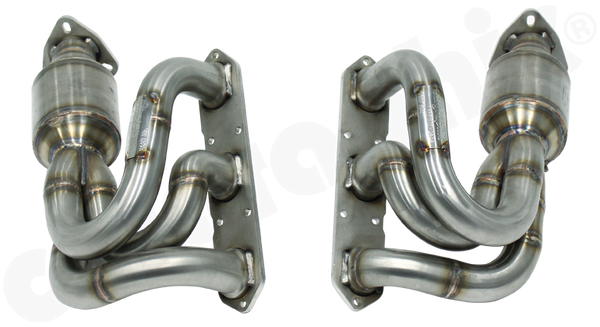 Porsche 987.1 Boxster / Cayman - Cargraphic New Generation Long Tube Manifold Set - SportsCarBoutique