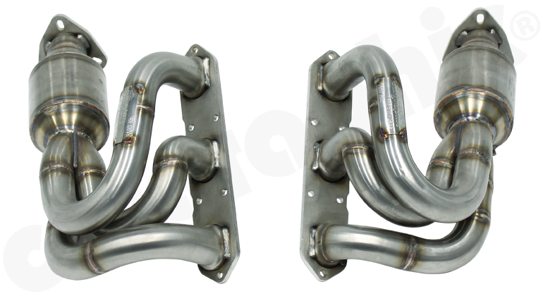 Porsche 987.1 Boxster / Cayman - Cargraphic New Generation Long Tube Manifold Set