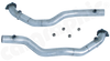 Porsche 996 3,6L Carerra 2/4 - Cargraphic Catalytic Converter Replacement Pipe Set Crossover Version - SportsCarBoutique