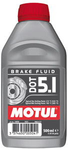 MOTUL BRAKE FLUID DOT 5.1 500ml - SportsCarBoutique