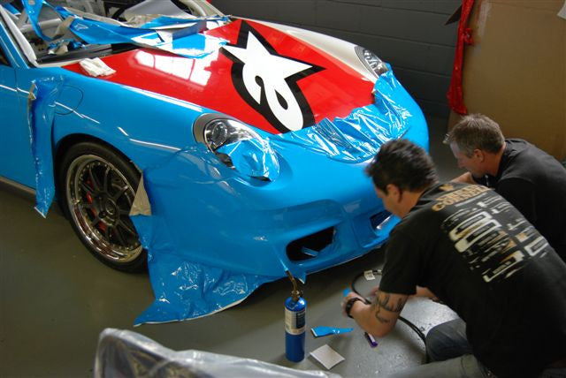 997 GT3 race car build
