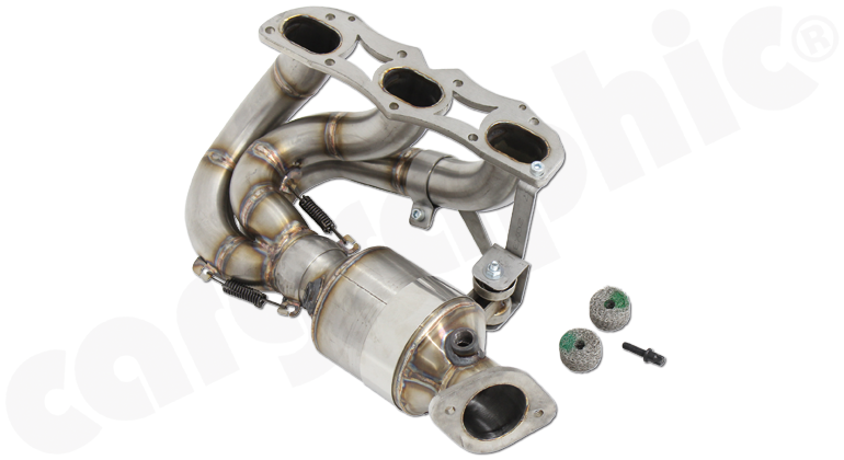 Porsche 981 Boxster / Cayman - Cargraphic New Generation Long Tube Manifold Set