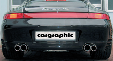 Porsche 996 Carerra 4S - Cargraphic 996 exhaust w/ FLAP Control - SportsCarBoutique