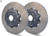 VW Golf R Mk7 Girodisc Front Slotted 2pc Rotor Set - SportsCarBoutique