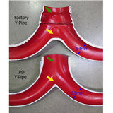 IPD 997.2 Turbo High Flow Y-Pipe