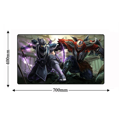 Zed & Shen League of Legends Mousepad