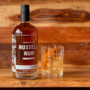 PRE ORDER BATCH 2 Russell spiced  Rum 700ml