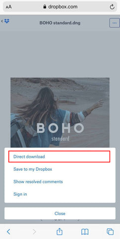 Select Direct Download