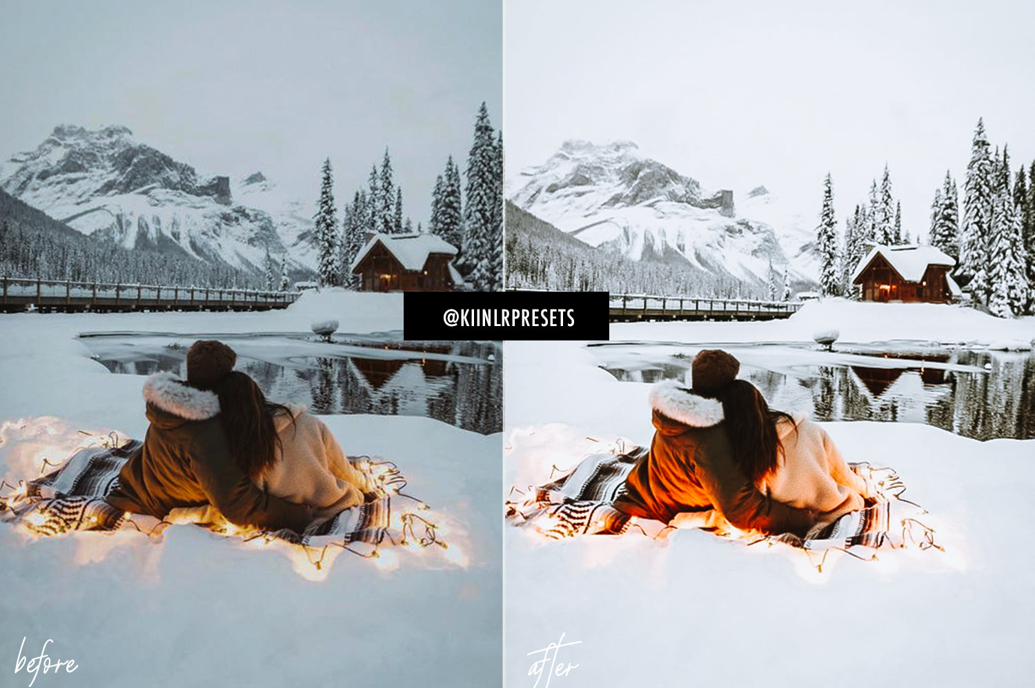 5 WINTER WONDERLAND LIGHTROOM MOBILE PRESETS