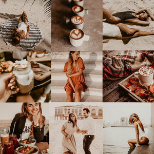 7 VINTAGE LIGHTROOM MOBILE PRESETS