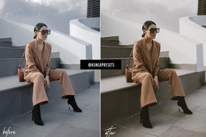 HAZELNUT VINTAGE LIGHTROOM MOBILE & DESKTOP PRESETS - KIIN LIGHTROOM PRESETS
