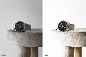 PRODUCT PHOTOGRAPHY WHITE BG LIGHTROOM MOBILE PRESETS - KIIN LIGHTROOM PRESETS