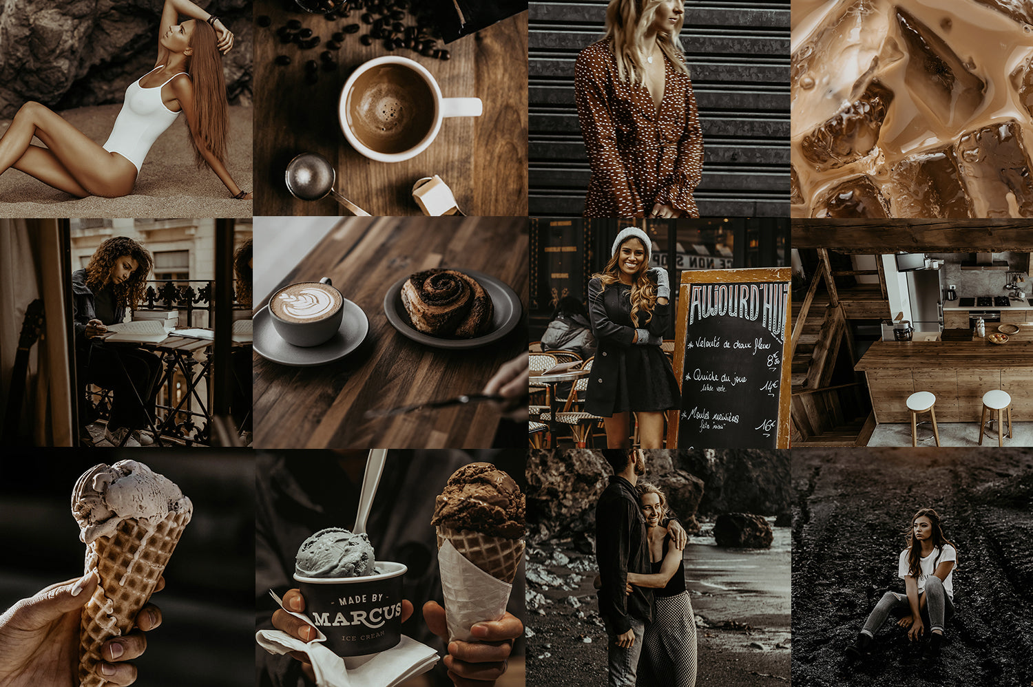 COFFEE TONED LIGHTROOM PRESETS