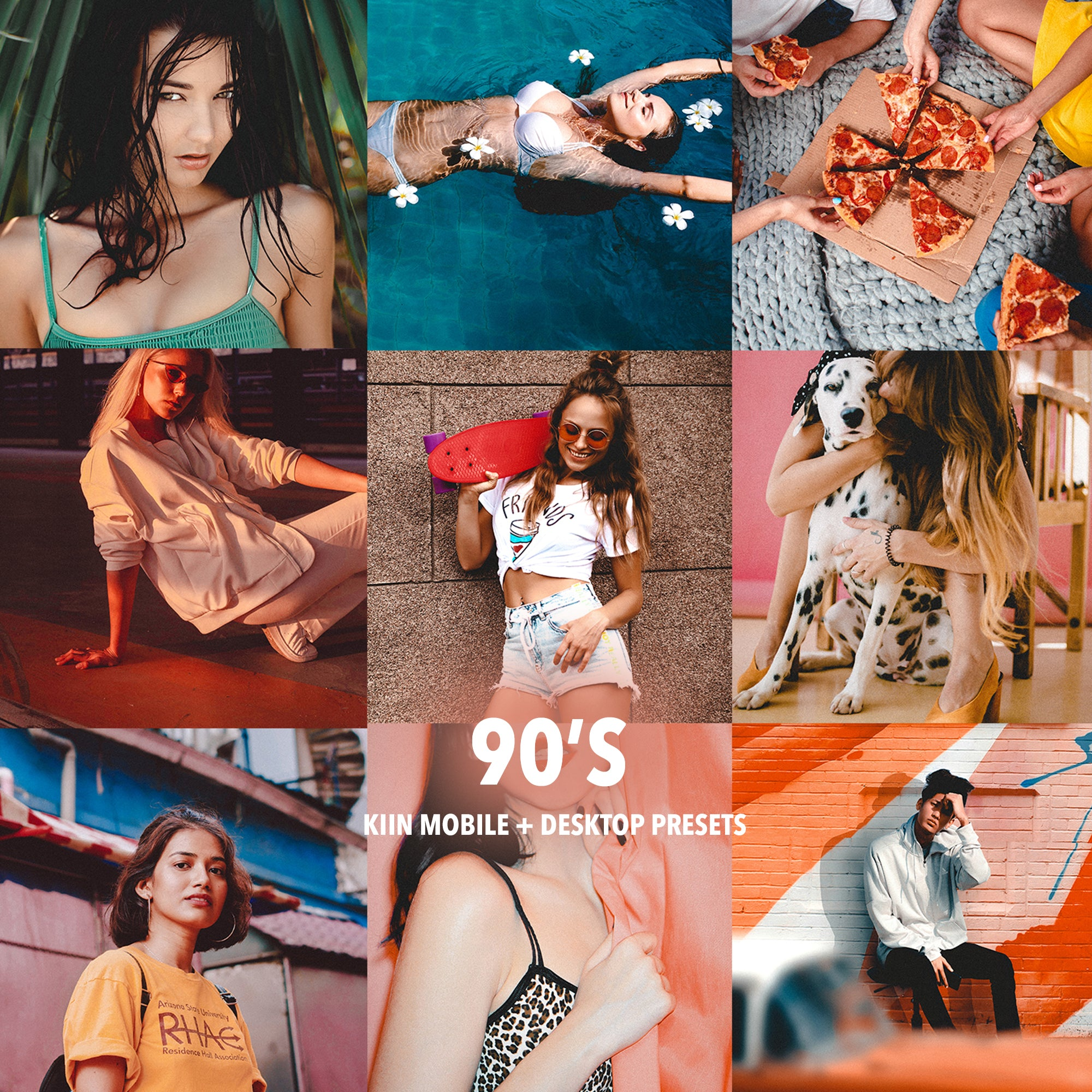 VINTAGE 90'S LOOK LIGHTROOM PRESETS