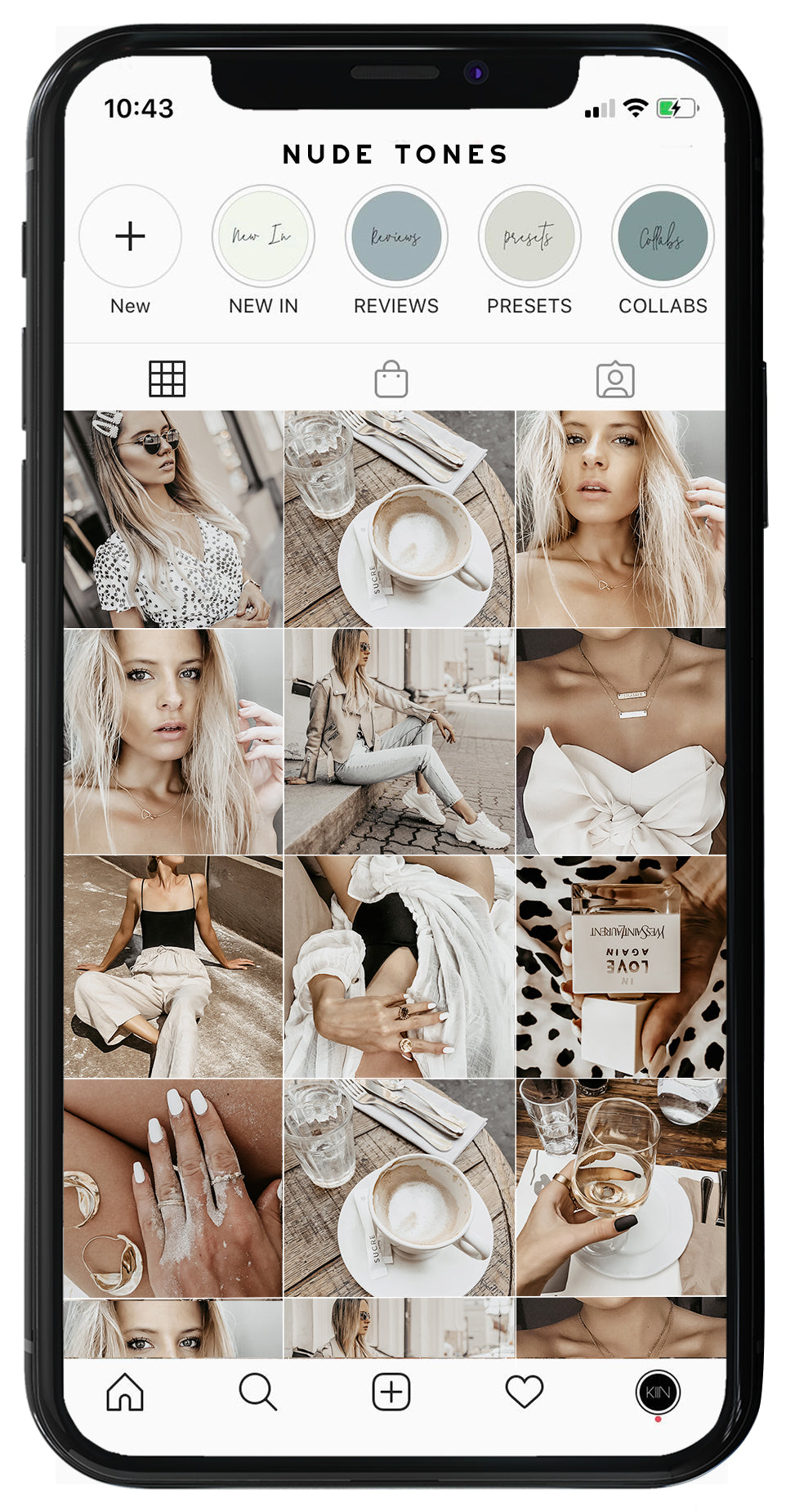 NUDE TONES LIGHTROOM MOBILE PRESETS