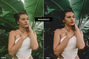 VINTAGE 90'S LOOK LIGHTROOM PRESETS - KIIN LIGHTROOM PRESETS