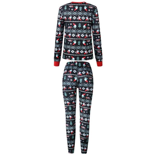 Christmas Family Geometric Pattern Outfits