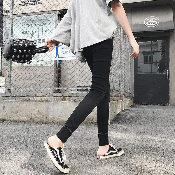 Fashion Slim Show   Thin  Elastic Skinny Jeans Tight   Pencil Pants