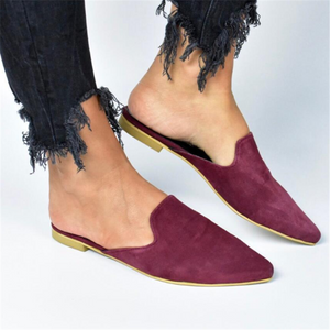 Fashion Simple Pointed Flat Shoes