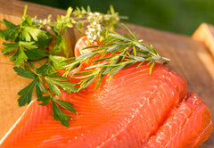 Smoked Alaska Red Sockeye Salmon