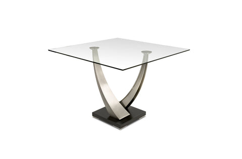 Buy the Elite Tangent Square Dining Table in Stuart Florida.
