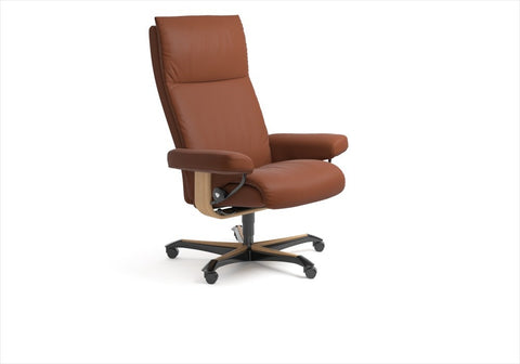Buy Stressless Aura Office chair in Stuart Florida.