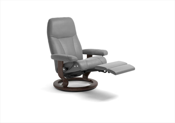 Buy stressless Consul recliner chair in Stuart Florida.