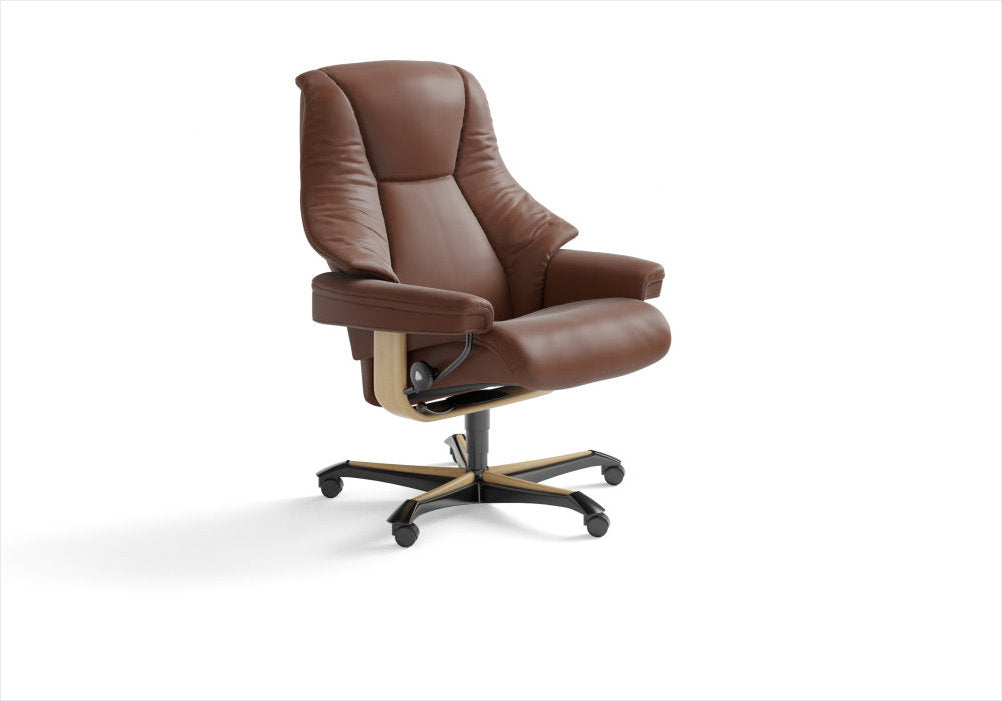Buy Stressless Live office chair in Stuart, Florida.
