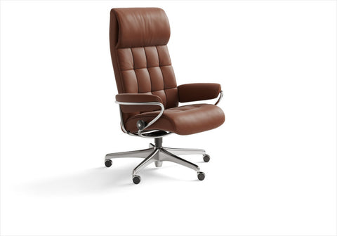 Buy Stressless London High-back office chair in Stuart, Florida.