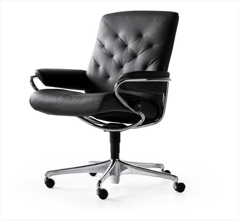 Buy Stressless Metro low-back office chair in Stuart, Florida.