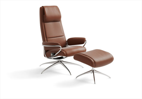 Buy Stressless High-back recliner chair in Stuart, Florida.