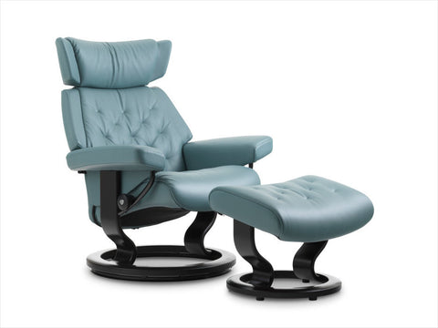 Buy Stressless Skyline recliner chair in Stuart, Florida.