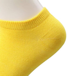 10 pcs Cute Candy Color Socks  -  Gray / Free Size  -  Socks  - SNS Outlet
