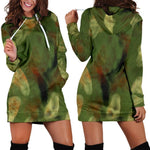 Abstract Camo Hidden Skulls Hoodie Dress  -  Women's Hoodie Dress / XS  -  Hoodie Dress  - SNS Outlet