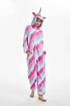 Animal Pajama Onesie  -  Big Galaxy unicorn / S  -  Pajamas  - SNS Outlet