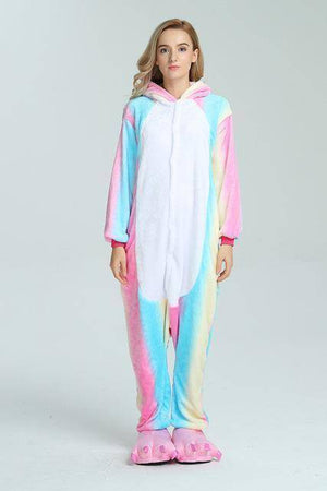Animal Pajama Onesie  -  Colorful unicorn / S  -  Pajamas  - SNS Outlet