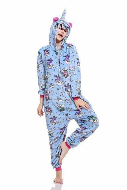 Animal Pajama Onesie  -  Fly unicorn / S  -  Pajamas  - SNS Outlet