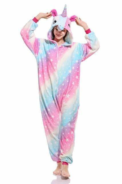 Animal Pajama Onesie  -  Galaxy unicorn / S  -  Pajamas  - SNS Outlet
