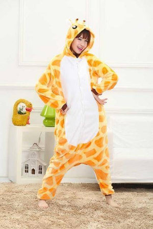 Animal Pajama Onesie  -  Giraffe / S  -  Pajamas  - SNS Outlet