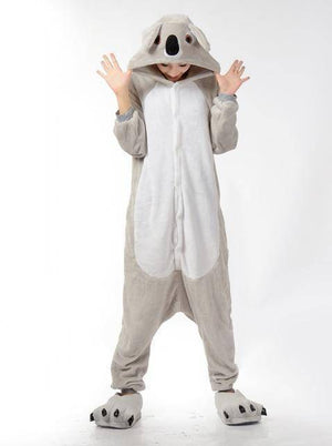 Animal Pajama Onesie  -  Gray koala / S  -  Pajamas  - SNS Outlet