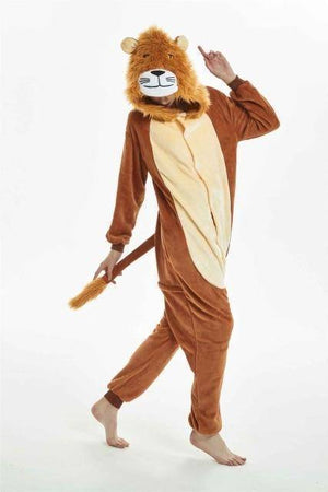 Animal Pajama Onesie  -  Lion / S  -  Pajamas  - SNS Outlet