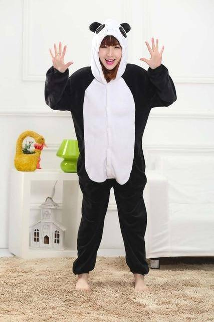 Animal Pajama Onesie  -  Panda / S  -  Pajamas  - SNS Outlet