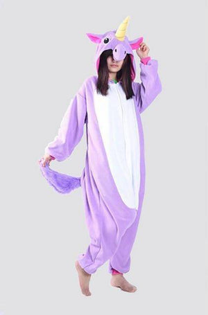 Animal Pajama Onesie  -  Purple unicorn tenma / S  -  Pajamas  - SNS Outlet