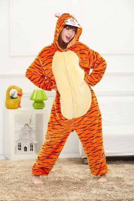 Animal Pajama Onesie  -  Tigger / S  -  Pajamas  - SNS Outlet