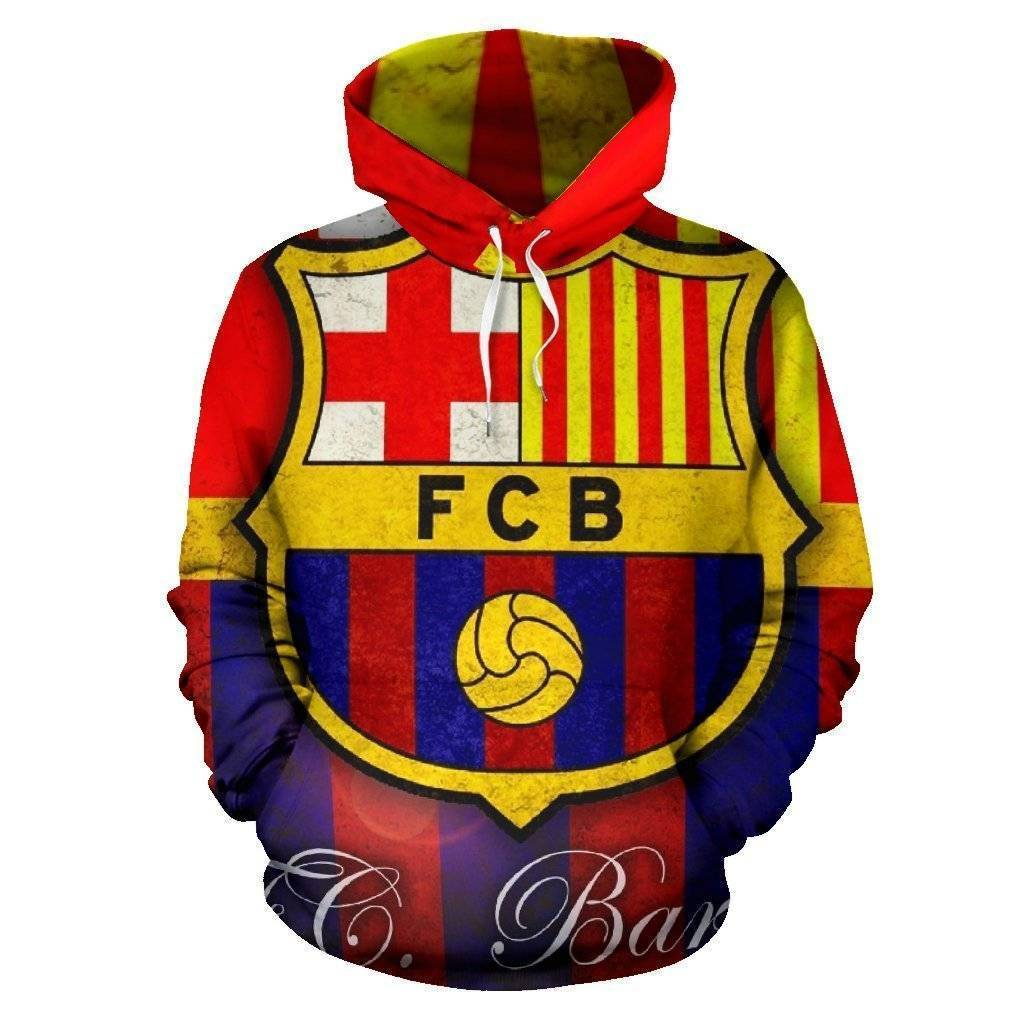 barcelona-hoodie  -  Men's Hoodie - Barcelona Hoodie / S  -  Hoodie  - SNS Outlet