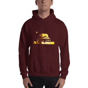 beach-bear-california-hooded-sweatshirt  -  Maroon / S  -  Hoodie  - SNS Outlet